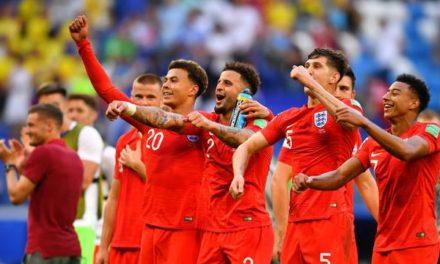 Inglaterra vence a Suécia e avança às semifinais após 28 anos