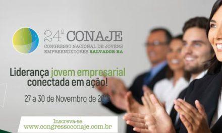Salvador recebe o Congresso Nacional de Jovens Empreendedores do Brasil