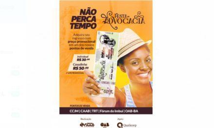 Chiclete com Banana e Ju Moraes vão animar a Festa da Advocacia