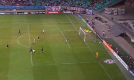 Bahia reage, empata com o Atlético-MG nos acréscimos e sai da zona de rebaixamento