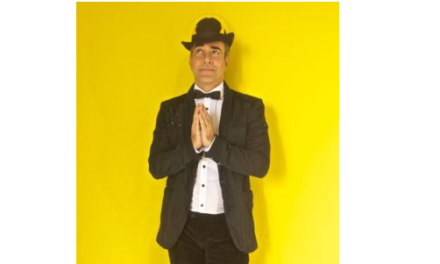 """Ricardo Castro apresenta """"Pelo Humor de Deus"""" no Porto dos Livros"""