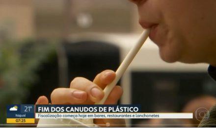 Vigilância Sanitária do Rio começa a fiscalizar estabelecimentos comerciais para coibir o uso de canudo de plástico