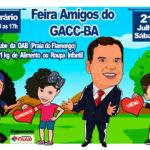 Feira de Amigos do GAAC será realizada no Clube dos Advogados, neste sábado, com apoio da CAAB
