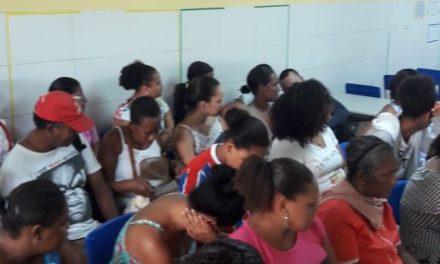 Prefeitura-Bairro Itinerante atende 502 pessoas em dois bairros