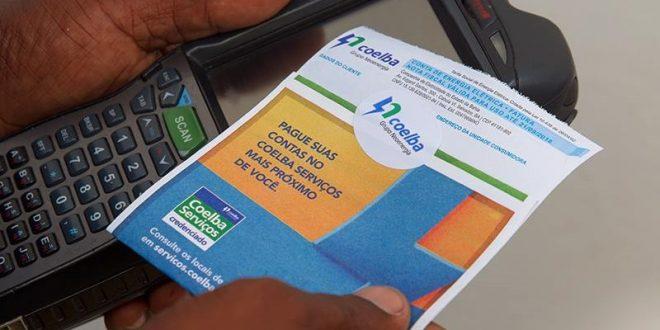 Depois de impor sofrimento à população Coelba e CEF se entendem e lotéricas voltam a receber conta de energia