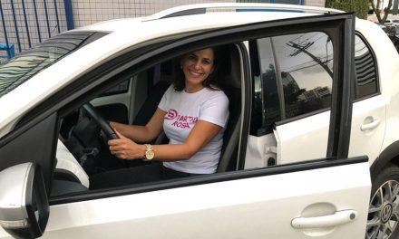 Deve chegar a 800 motoristas até dezembro app de transporte só para mulheres