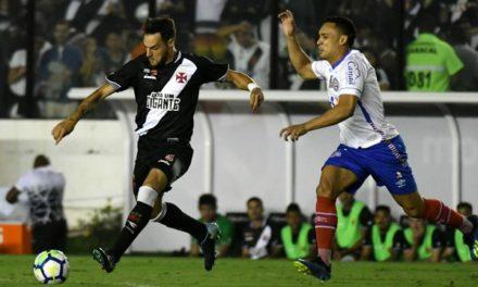 Em mais uma partida sofrível Bahia perde de 2×0 para o Vasco, mas consegue avançar na Copa do Brasil