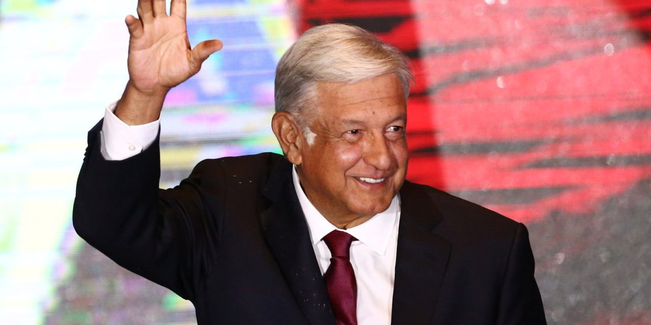 López Obrador é eleito presidente do México, diz autoridade eleitoral