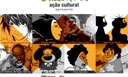 Inscrições para oficina de quadrinhos em Salvador