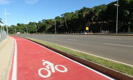 Ciclovia na Paralela terá 12km interligados à Pinto de Aguiar e Orlando Gomes