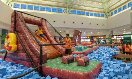 Circuito de Aventuras do Pica-Pau e mais diversão no Salvador Norte Shopping