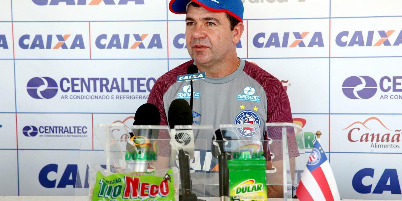 Enderson Moreira fala do jogo com o América-MG em entrevista coletiva