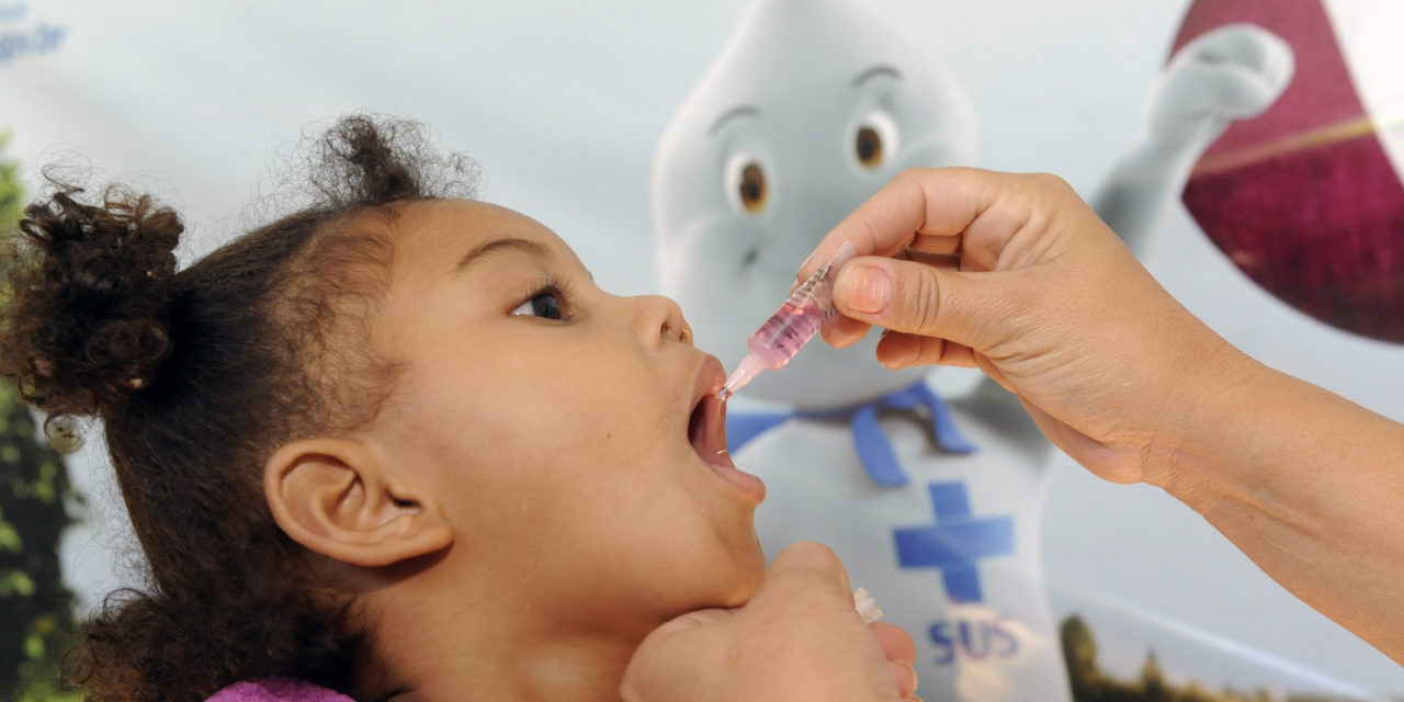 Mais de 130 mil crianças devem se imunizar contra pólio e sarampo em Salvador