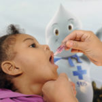 Vacinação contra pólio e sarampo atinge 51% da meta