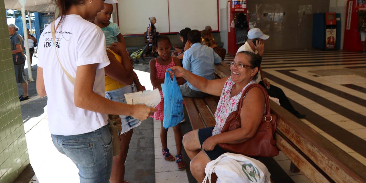Campanha alerta população sobre o tráfico de pessoas na Bahia
