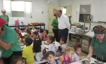 Alckmin diz que universalizará acesso de crianças de 4 e 5 anos à pré-escola
