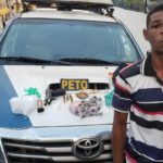 Traficante solto há cinco meses volta a ser preso pelo mesmo crime