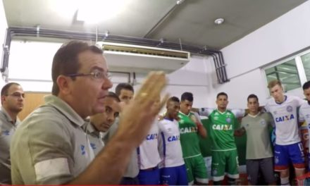 Confira o vídeo dos bastidores do jogo do Bahia contra o Cerro em Pituaçu