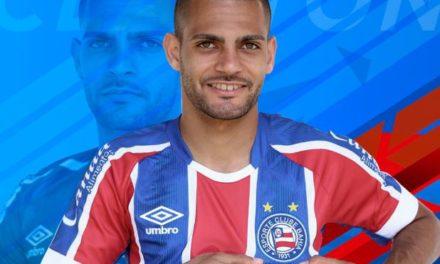 Bahia confirma contração do atacante Clayton, novo reforço do Esquadrão