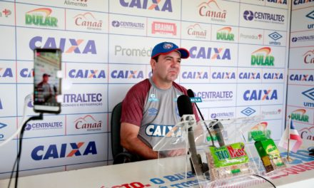 Treinador crê em Bahia 'muito competitivo' no Pacaembu