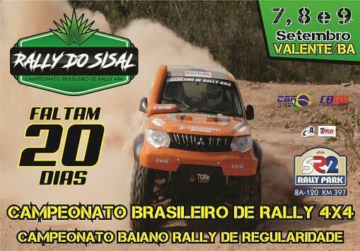 Rally do Sisal 2018 em setembro, Valente Bahia