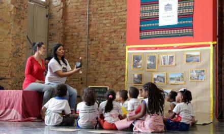 Estudantes da rede municipal conhecem cultura afrobrasileira durante atividade lúdica