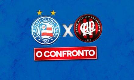 Confira os jogos entre Bahia x Atlético Paranaense