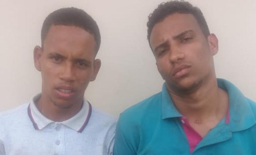 Polícia prende dupla que assaltou consultório odontológico em Paripe