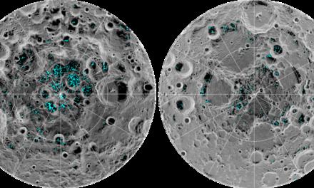 Lua tem depósitos de gelo em seus dois polos, diz Nasa