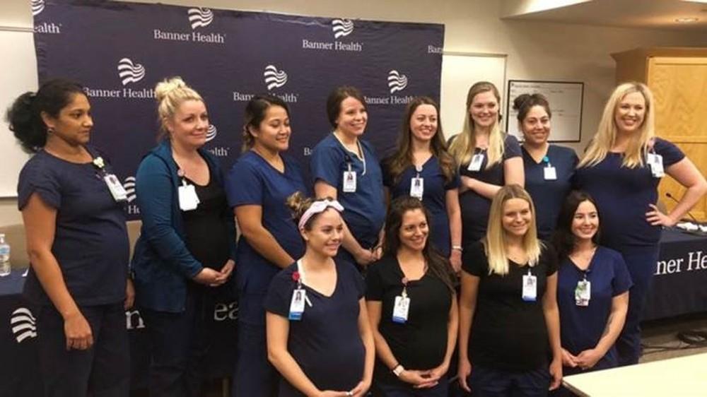 O curioso caso das 16 enfermeiras grávidas ao mesmo tempo em um hospital do Arizona