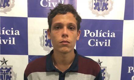 Polícia prende em Itapuã suspeito de homicídios e envolvimento com o tráfico de drogas