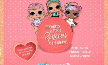 PB Kids realiza encontro de colecionadoras de bonecas LOL no Salvador Norte Shopping