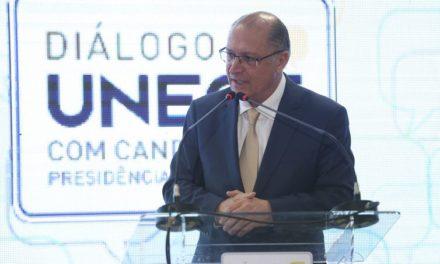 Ministério Público apresenta ação contra Alckmin por caixa 2