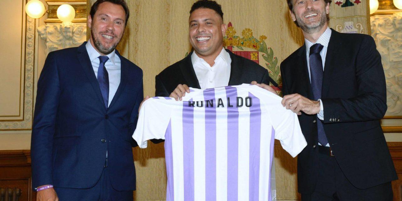 Ex-atacante Ronaldo compra o Real Valladolid