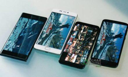 Samsung domina lista de smartphones mais buscados entre os brasileiros