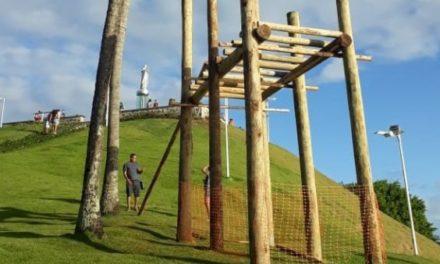 Prefeitura inaugura Morro do Cristo com tirolesa nesta sexta (28)
