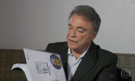 Alvaro Dias é entrevistado no Jornal Nacional