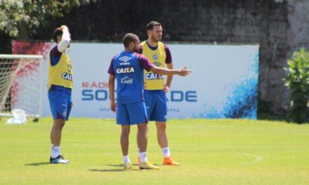 Bahia: bola parada marca último treino antes do Palmeiras