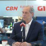 Ciro diz que 'Brasil não aguenta mais um presidente fraco, que tenha que consultar seu mentor'