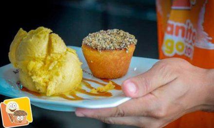 A Cubana comemora dia do sorvete com ação social em Salvador