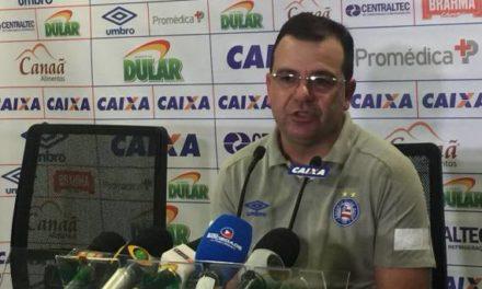 Enderson Moreira fala sobre o empate com Palmeiras