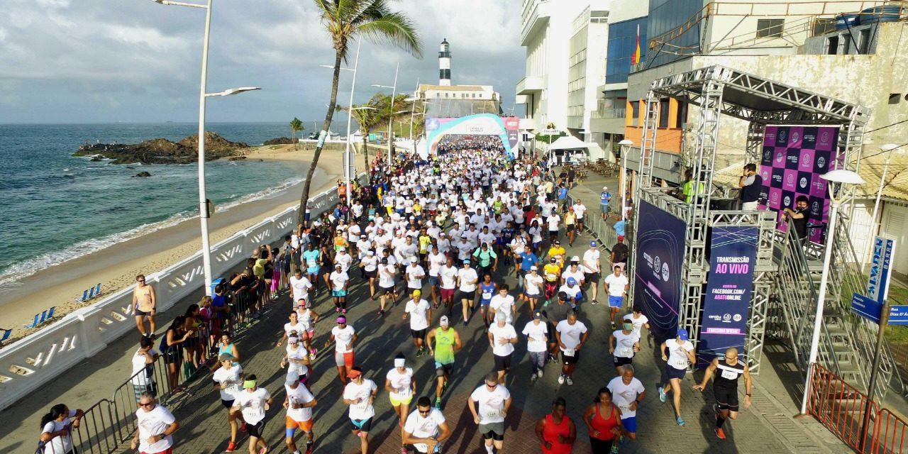 Cinco mil atletas participam da Maratona Cidade de Salvador 2018