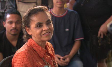 Marina faz campanha no Rio e diz que se eleita investirá em inteligência para diminuir violência no estado
