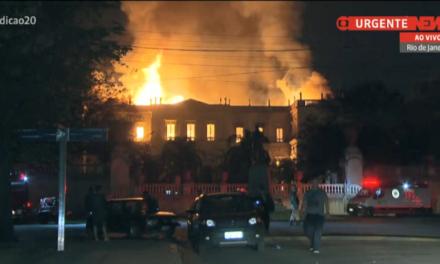 Após 3 dias, bombeiros concluem que Museu Nacional estava em situação irregular