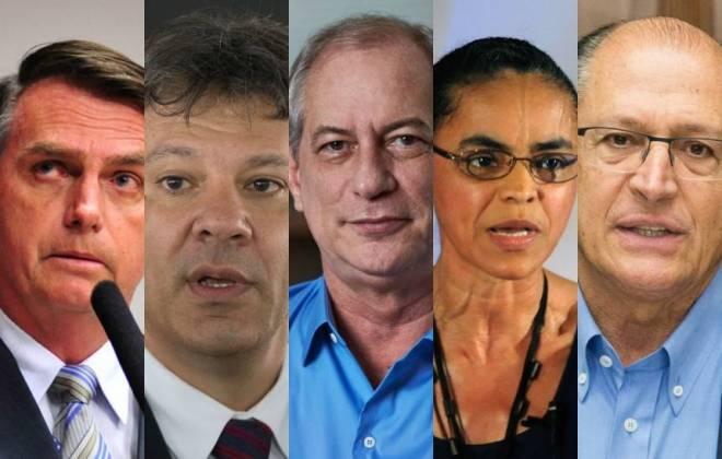 Datafolha mostra em quem eleitores de Ciro, Alckmin, Amoêdo e Marina declaram voto no 2º turno