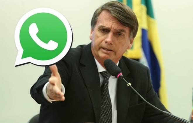 Bolsonaro quer mudar recurso do WhatsApp criado para combater fake news
