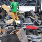 Prefeitura destroi mais de 2 mil equipamentos sonoros inservíveis