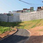 Prefeitura entrega segunda etapa de encosta no Barro Branco neste sábado (20)