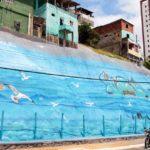 Rio Vermelho recebe primeira geomanta grafitada nesta sexta (19)