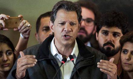 Haddad reconhece que PT cometeu erros e promete mudanças